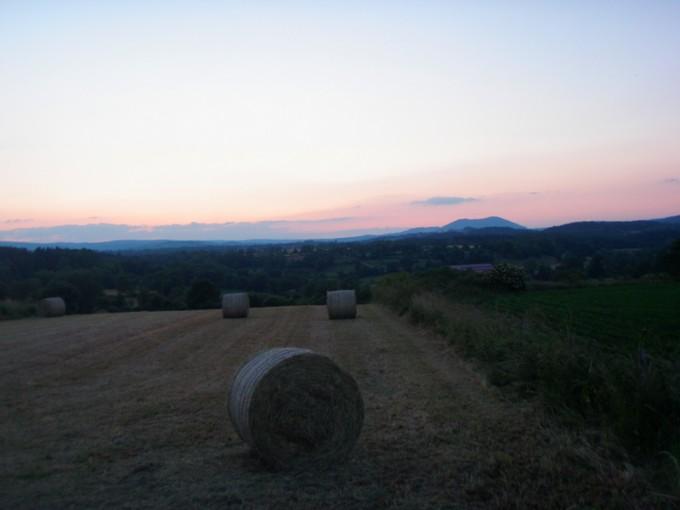 Couché de soleil sur le Mont Bar