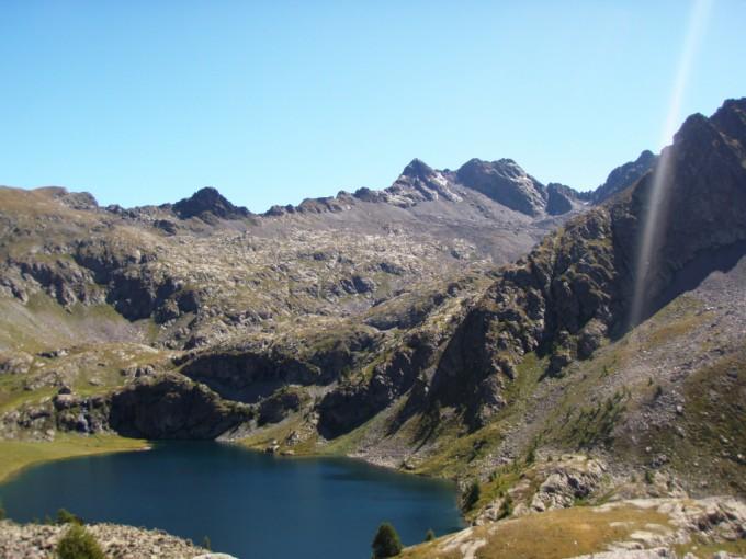 lac de vens et refuge