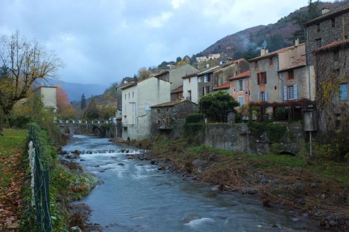 L'Hérault à Valleraugue