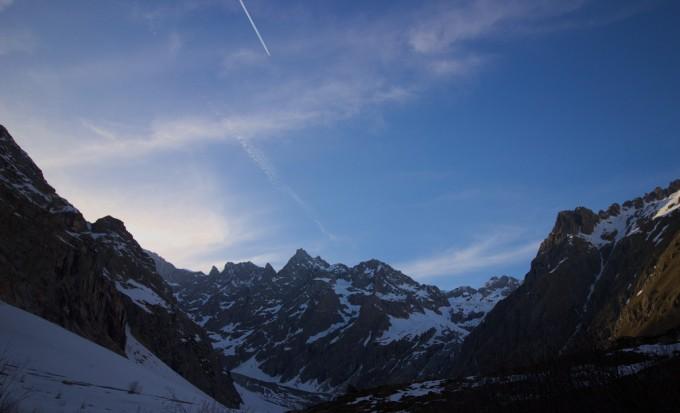 Glaciers Blanc, glacier Noir