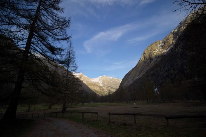 Vallée de la Gyre à Ailefroide