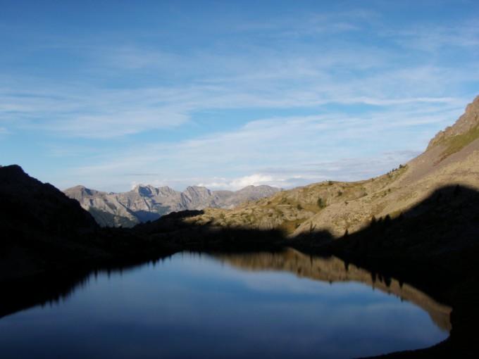 lac de vens matin