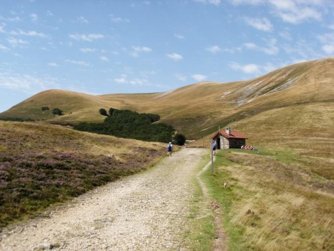 Les premiers kilomètre en Espagne par le col de Bentarte