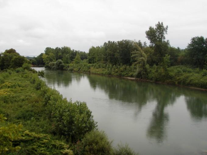 Gave de Pau à Maslacq