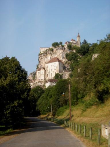 Arrivée à Rocamadour
