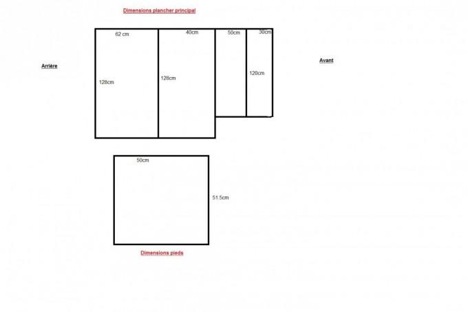Plans théoriques des planches